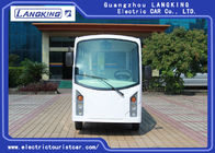 14 Seaters Electric Passenger Vehicles With Door Recharge Time 8 ~ 10h