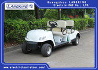 4 Wheel 4 Person Electric Club Golf Cart Car 48V Battery Powered Without Roof