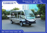 2 Seater 1200KG Small Electric Luggage Cart For Airport / Electric Cargo Vehicle