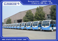 14 Seater Electric Sightseeing Car 72V/5.5 KW With Door For Park Y140A-M