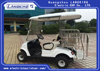4 Person Electric Golf Carts , Mini Battery Operated Golf Buggy Safety For Children