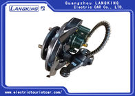 Tourist Electric Car Steering System Black Golf Cart Brakes Wear Resistance