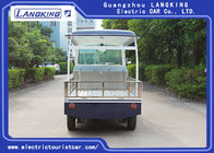900KGS 48V DC Motor Utility Cargo Vehicle / Electric Pick Up Truck With Roof Or Basket