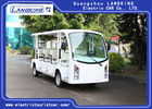 11 Person 4 Wheels Electric Tourist Car / Electric Sightseeing Bus With Vacuum
