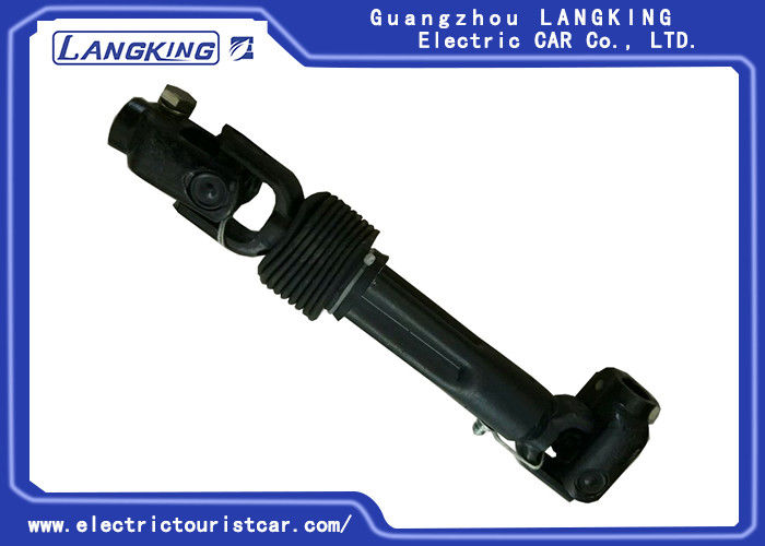 Lightweight Black Golf Cart Steering Assembly High Corrosion Resistance