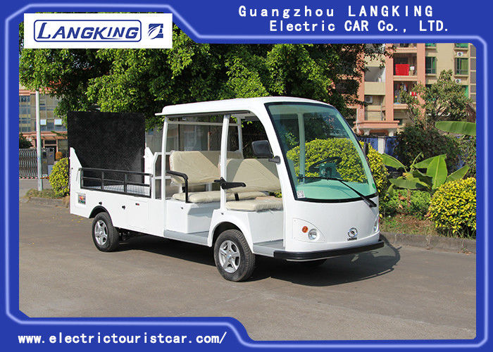 5KW Powerful Motorleft Hand Drive Electric Mini Truck 5 Seats Hydraulic Tail Plate 1.2 Ton Loading Capacity